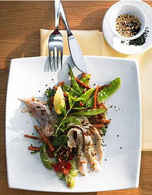 Red Snapper Filet mit Wokgem�se