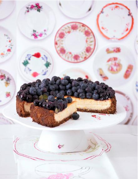 ingwer cheesecake mit blaubeeren von cynthia barcomi bilder ingwer cheesecake mit blaubeeren von. Black Bedroom Furniture Sets. Home Design Ideas