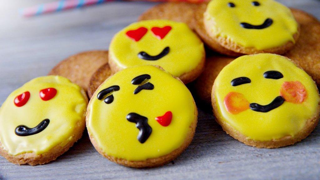 Emoji kekse rezept