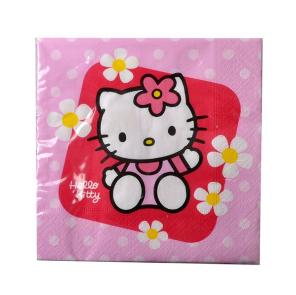 hello kitty serviette