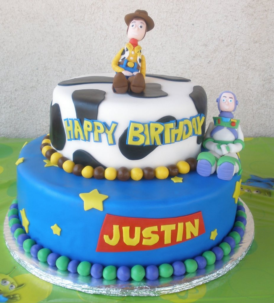 Buzz And Zurg Birthday Cake