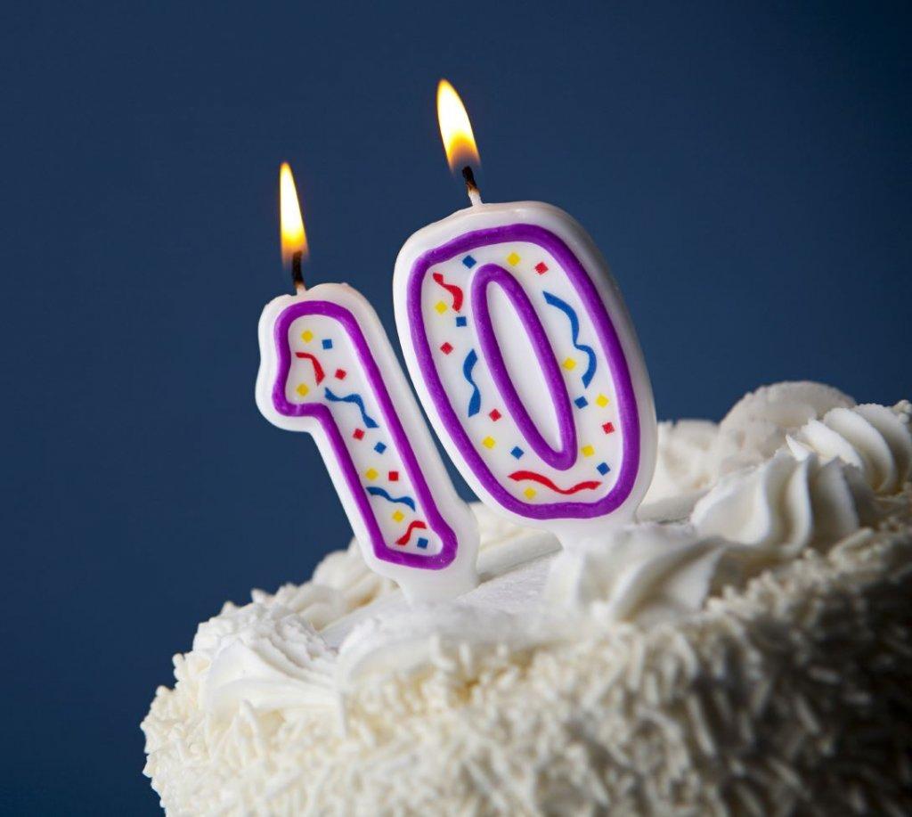 10 Geburtstag Kerze Bilder 10 Geburtstag Kerze Foto