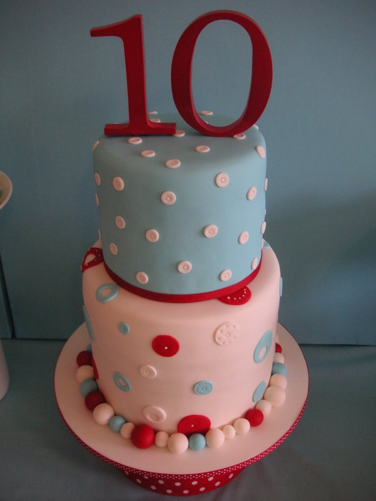 Polka Dot Birthday Cakes Pictures