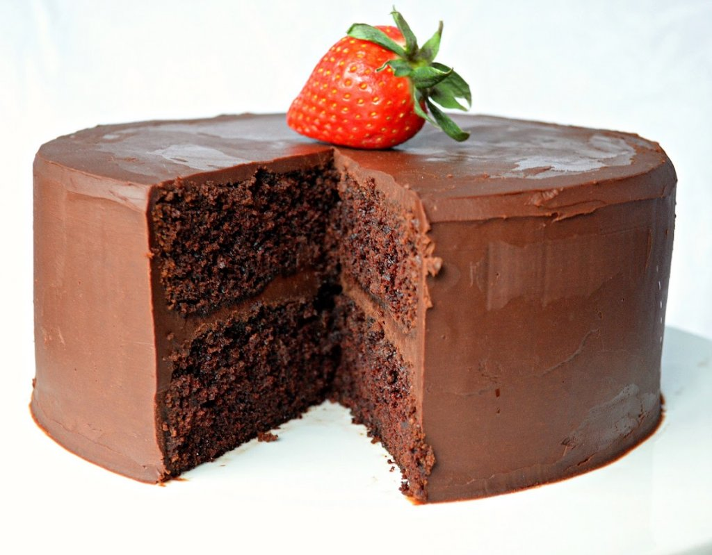 Chocolate Cake Recipe With Ganache Frosting