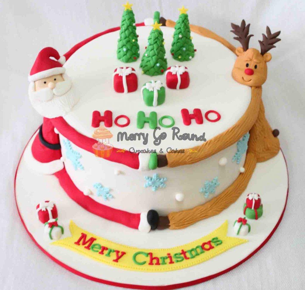 Xmas Tree Cake Toppers