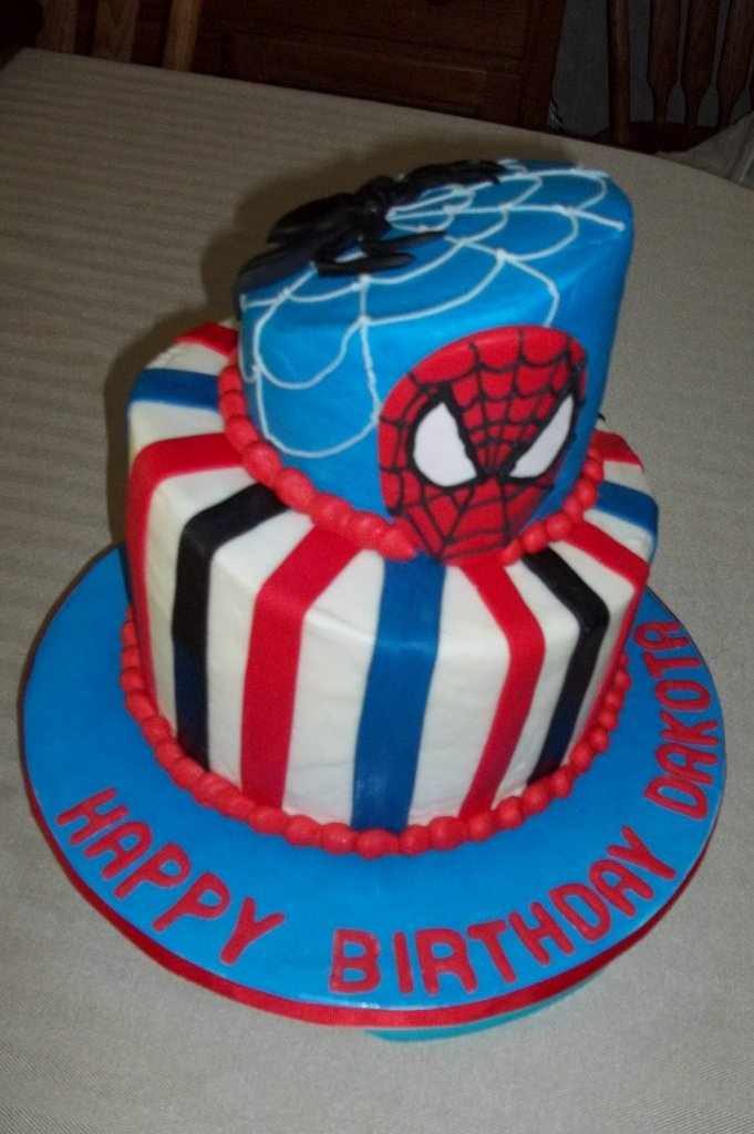 Spiderman backen