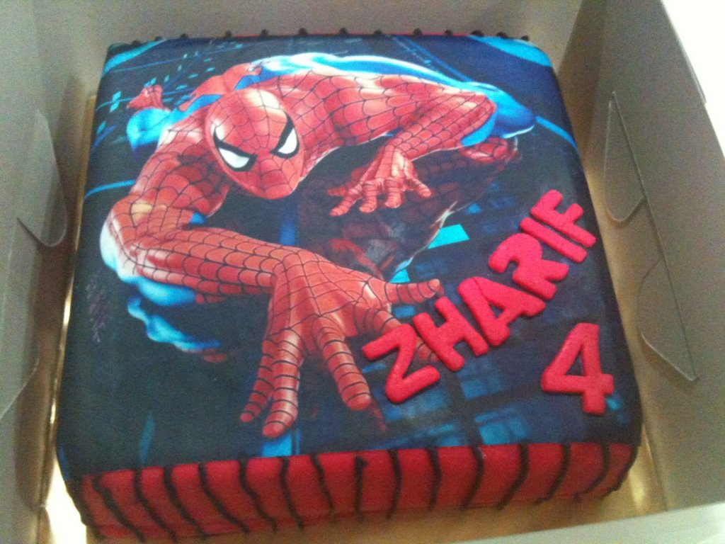 Spiderman Druck
