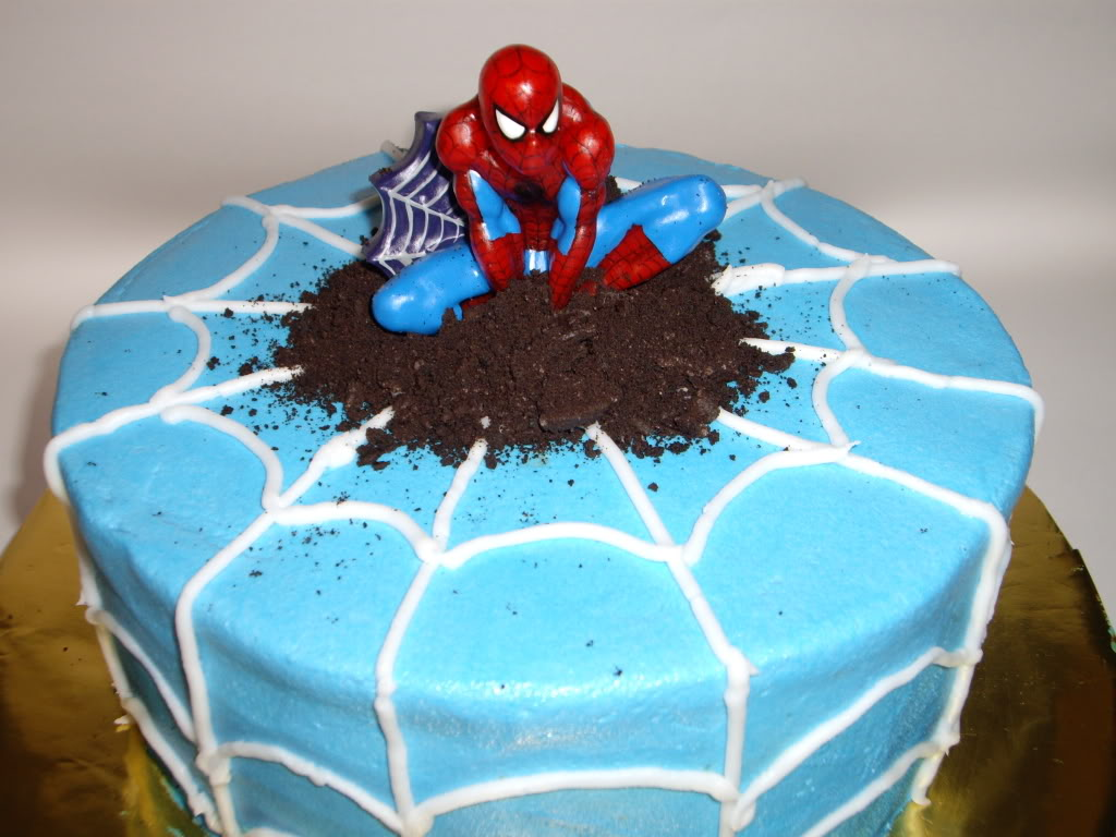 Spiderman kuchen