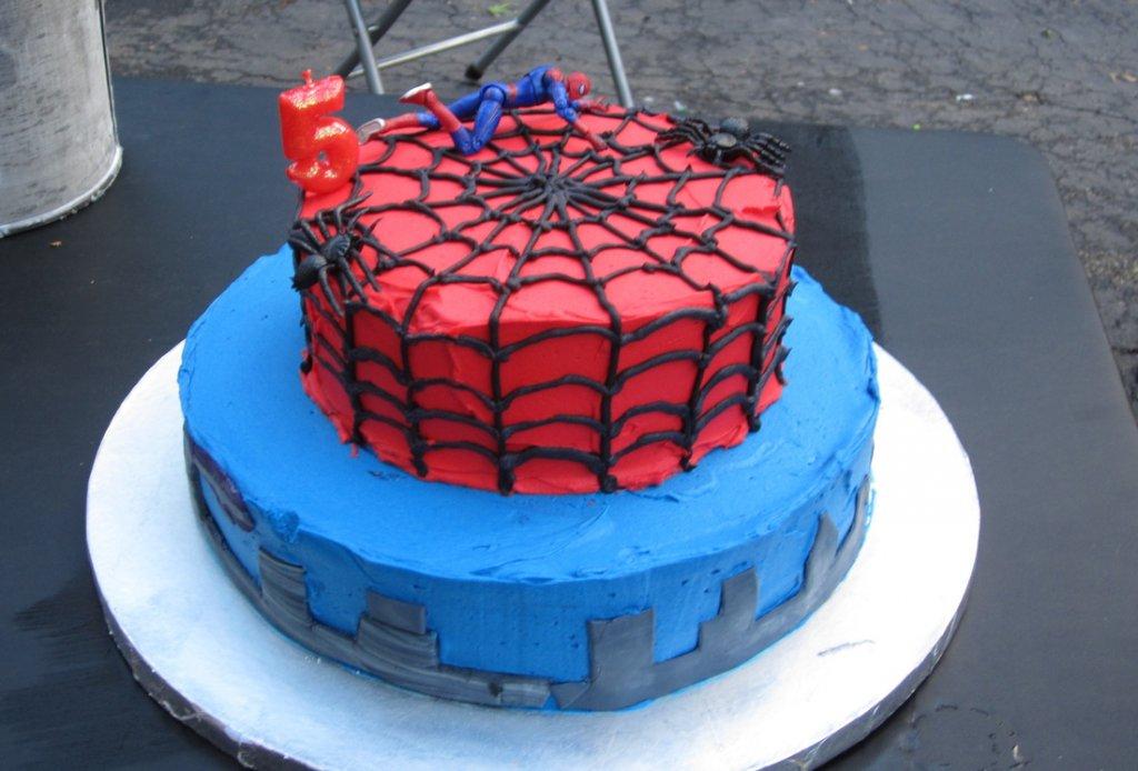 Spiderman Torte Bilderspiderman Torte Foto