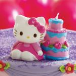hello kitty kerze