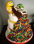 m and m torte