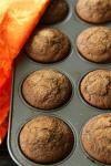 Whole Wheat Pumpkin Spice Latte Muffins